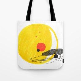 Desert Sun Skeleton Tote Bag
