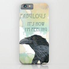Feeling Fab Raven iPhone 6s Slim Case