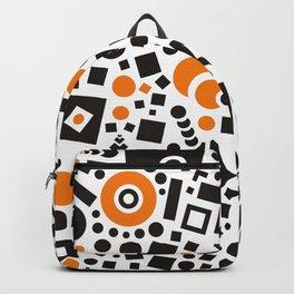 Black versus Orange Backpack
