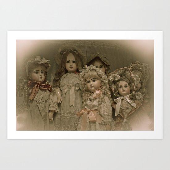 Little Women Art Print