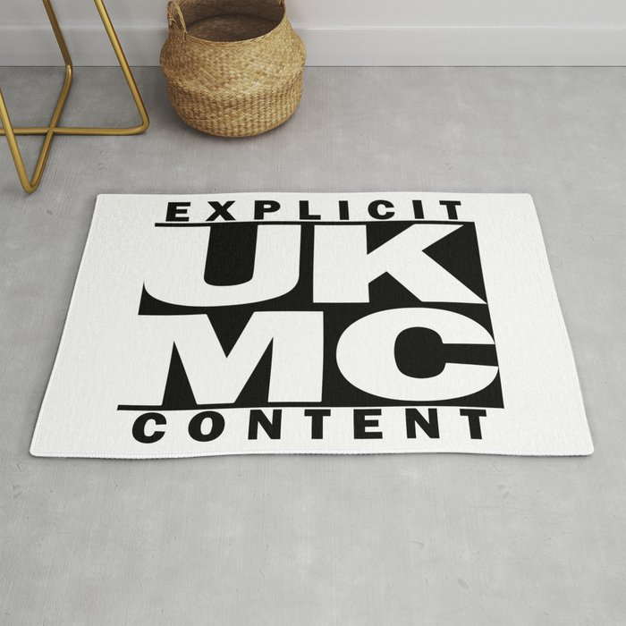 UK MC Explicit Content Rug by