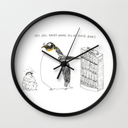 penguin classics Wall Clock