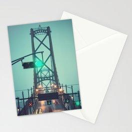 Green Light Bridge Stationery Cards