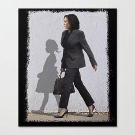 Kamala Harris Ruby Bridges Walking Madam Vice President  Canvas Print