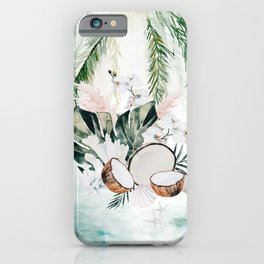 Tropical Hideaway iPhone Case