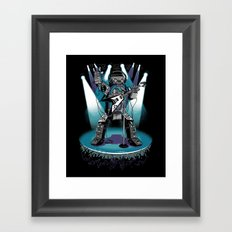 Jukebox Hero Framed Art Print
