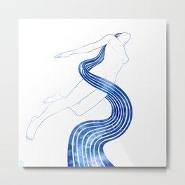 Water Nymph XLVIII Metal Print