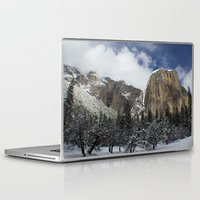 yosemite Laptop & iPad Skins featuring Yosemite by Michelle Chavez