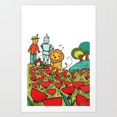 Il mago di Oz, Wizard 02 Art Print