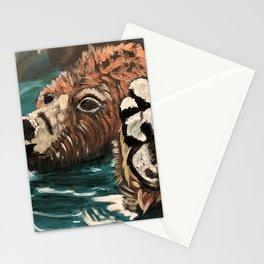 Chill Bear by Noelle's Art Loft Stationery Cards