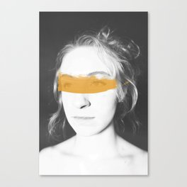 Tainted Eyes Canvas Print
