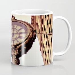 Flatiron Building and Fifth Avenue Clock - New York City Coffee Mug