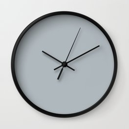 Color Smoke Wall Clock