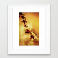 champagne Framed Art Prints featuring Champagne by SensualPatterns