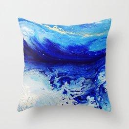 Arctic Current Throw Pillow