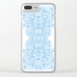 Cloudy judgment Clear iPhone Case