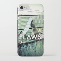 bastille iPhone & iPod Cases featuring Bastille - Flaws by Thafrayer