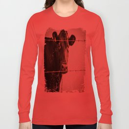 How Now, Brown Cow? Long Sleeve T-shirt