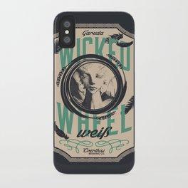 Wicked Wheel Weiß  | FFXIV iPhone Case