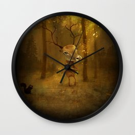 Additional Views  Owl - Gufo  Wall Clock