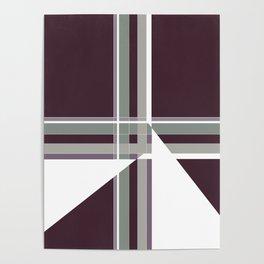 Minimalist Geo Pattern Poster