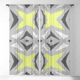 Zip Sheer Curtain