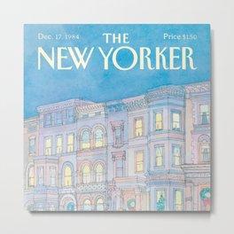The New Yorker - 12/1984 Metal Print