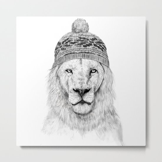 Winter is here I Metal Print