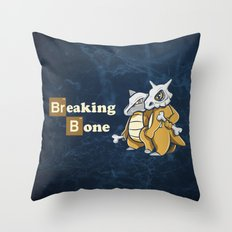 Breaking Bone Throw Pillow