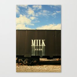 Milk Train Canvas Print