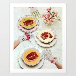 Meat Soup Art Print
