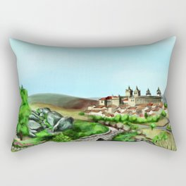 Viseu landscape Rectangular Pillow