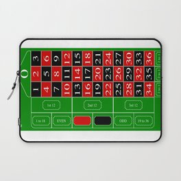 Roulette Table Laptop Sleeve