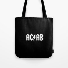 ACAB # BLACK & WHITE Tote Bag