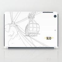 rio iPad Cases featuring RIO by ThiagoKoi