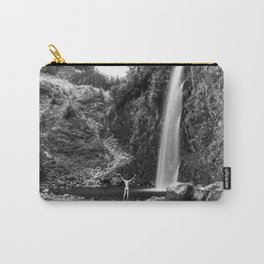 Naked Long Exposure Waterfall Carry-All Pouch