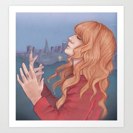 The Odissey (Florence + The Machine) Art Print