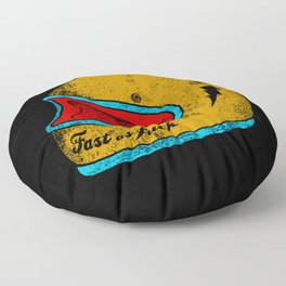 fast as fuck Floor Pillow