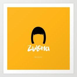 Zulema Vis a Vis - Najwa Nimri Art Print