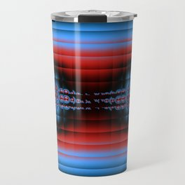 Fractal Compound eyes. Travel Mug