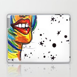 Red Lips Laptop & iPad Skin