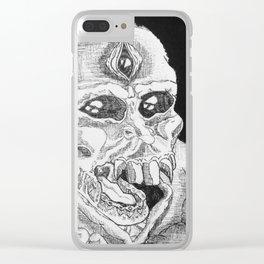 Ha . Clear iPhone Case