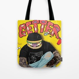Getter burger head Tote Bag