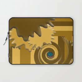 Shades of Brown Laptop Sleeve