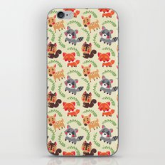 The Happy Forest Friend iPhone & iPod Skin