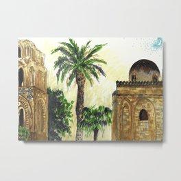 Palmes Metal Print