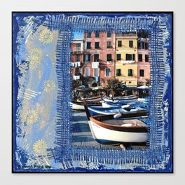 Boats on the Square Canvas Print