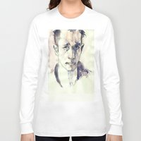 kerouac Long Sleeve T-shirts featuring Jack Kerouac by Germania Marquez