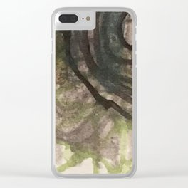 garden labyrinth Clear iPhone Case