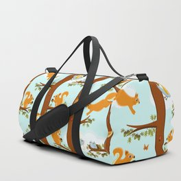squirrel party Duffle Bag